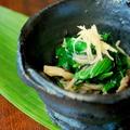菌活レシピで美しく!キノコの常備菜とモロヘイヤの冷たい一皿 by nanakoさん