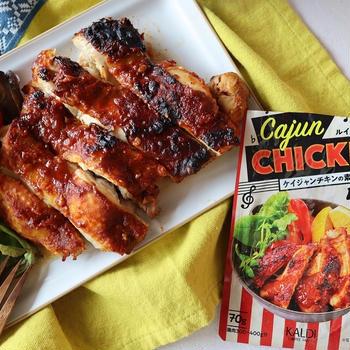 【鶏肉レシピ】KALDI便利品と懐かしの味♡と父の日プレゼント