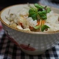 彼と二人で食べる五目炊き込みご飯(レシピ付き)