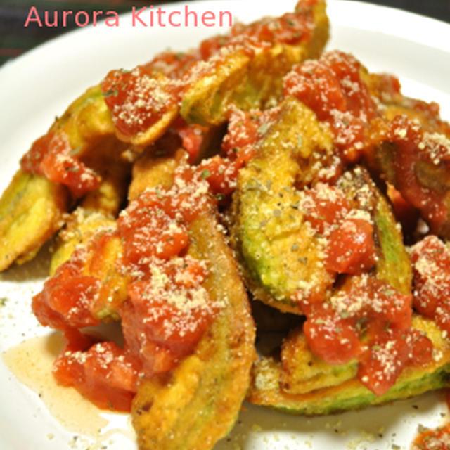『アボピカタのトマサルソース』**ビゴのレシピでパン作り♪♪
