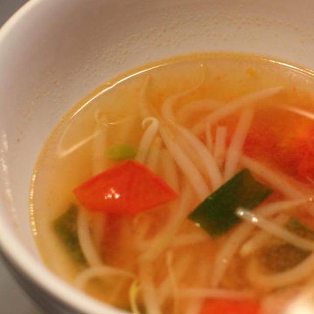 野菜とトマトのスープ