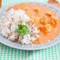 【スパイス大使】夏ランチに簡単!野菜ジュースでバターチキンカレー by アップルミントさん