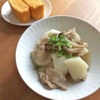 【ヤマキだし部】カブと豚バラの煮物