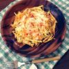 ピリ辛ポテトのパリパリチーズ焼き