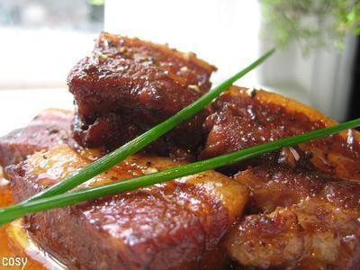 豚バラのバルサミコ煮