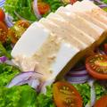 シンプルに♪豆腐サラダ 「ボナペティートすりごまドレッシング」 by aka.ruさん