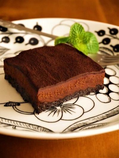 大人ビターな生チョコタルト♪簡単バレンタインレシピ