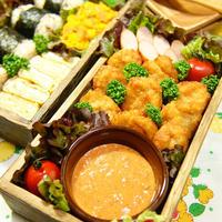 スパイシーホットパプリカマヨソースでいただく☆サクフワ♪うまうま!!チキンナゲット スパイス・揚げ物・お弁当・ソース料理 -Recipe No.1450-