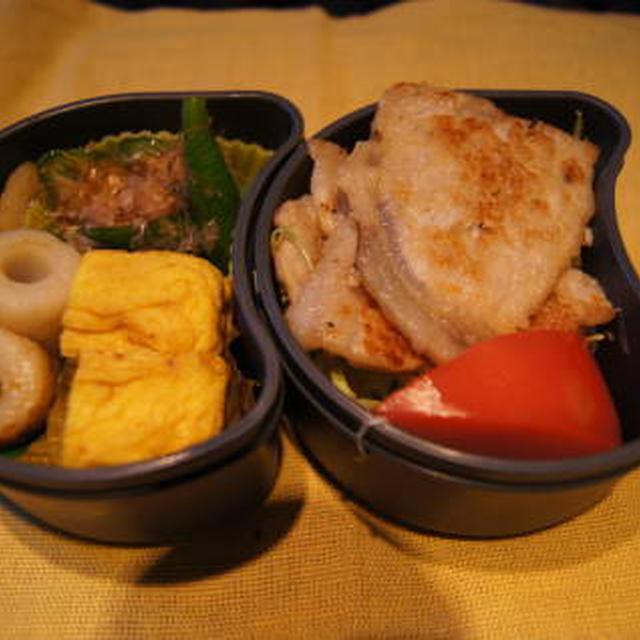 0731 豚肉の梅タレ焼き