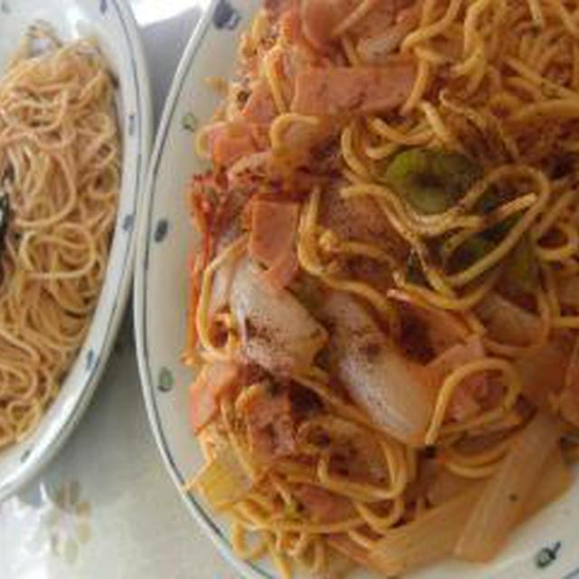 ちょっと一味美味しいナポリタンスパゲティ