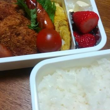 中学生のお弁当(小学生もあり)