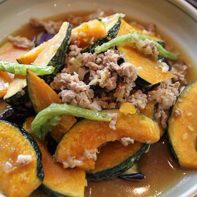 レシピ 素揚げ野菜と豚肉の和風あんかけ