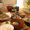 肉豆腐と残り物あれこれごはん。 by いっちゃん♪さん