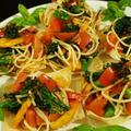 【カフェごはんパーティー④トマトと柿のプチパスタサラダ】です^^ by あきさん