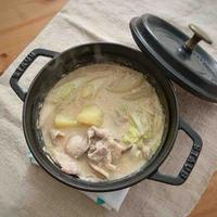 【ヤマキだし部】みそ豆乳鍋