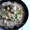 かぼちゃと豚肉の炊き込みご飯 by hannoahさん