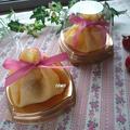 春休みのおやつに♪いちごの米粉クレープ茶巾包みケーキ
