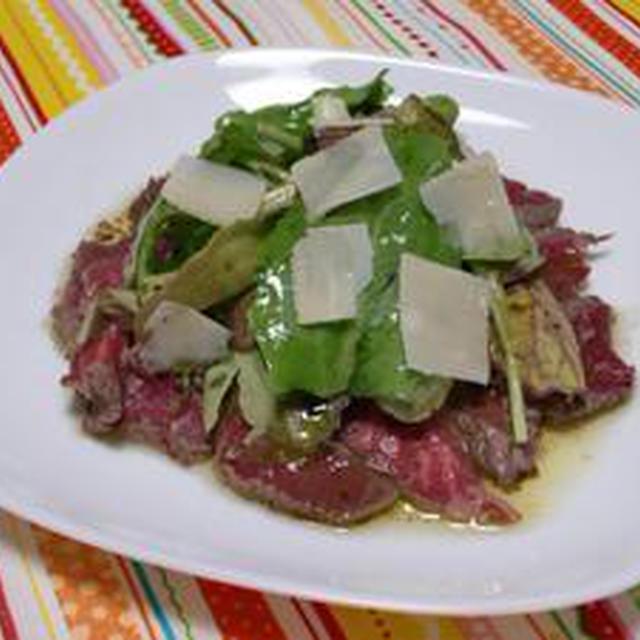 市場まつり  牛フィレ肉のハーブサラダ バルサミコ風味