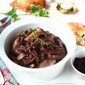 余ったジャムで安いお肉をおいしく! ご飯にもパンにもあう、洋風牛ごぼう。 by 庭乃桃さん