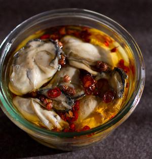 牡蠣のオイル漬け ☆ 中華風味
