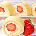 卵1個で作るロールケーキ 食べきりサイズ♪【初めての人でも簡単ロール♪】