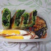 スパイス野菜たっぷりのお弁当