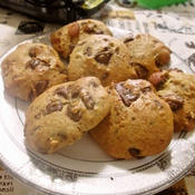 スペアミント香るチョコナッツクッキー