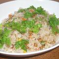 タイ風納豆チャーハン
