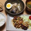 アメトピ掲載感謝!晩ごはんは油淋鶏とサバ缶ですき焼き風?とかおチャンレシピ