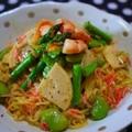 春野菜たっぷりのサラダ涼麺 by とまとママさん