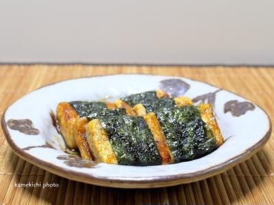 しっかり豆腐で「豆腐の磯辺焼き」&「今回のメシ通さんはお花見用ホットドック風ご飯です」