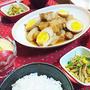 【30分!超節約!スピードおうちごはん】とろとろ~豚角煮 de 夕食 & やっぱ、北海道がいいや
