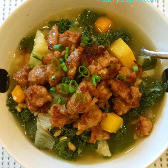トレーダージョーズの野菜と大麦(バーレー)のスープ Barley Soup