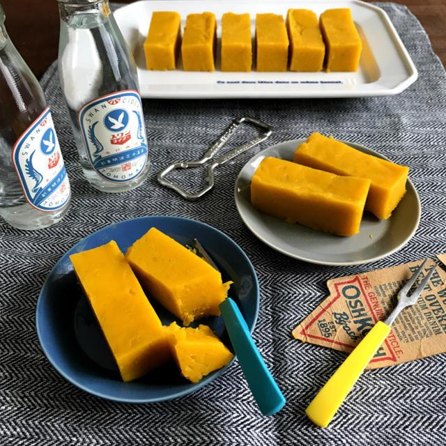 【簡単!!野菜のおやつ】寒天で*かぼちゃようかんと、イトーヨーカドーさんのチラシのお知らせ