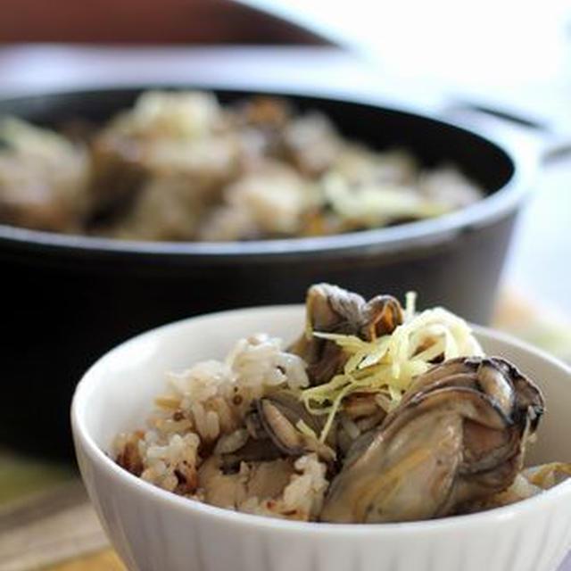 牡蠣しぐれ飯と、満員御礼♡