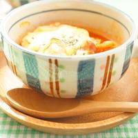 【モニター】あらびきミートローフでトマトスープグラタン