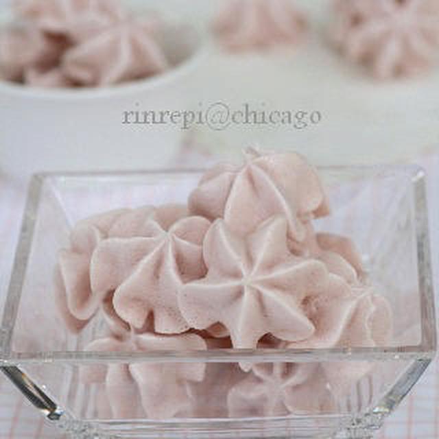 ストロベリーKiss 苺の焼きメレンゲ