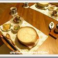 手羽元スープの中華粥 by にゃあぱんさん