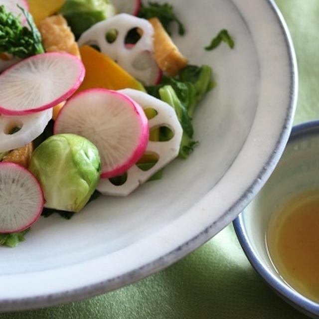 5種の野菜を使った和サラダ