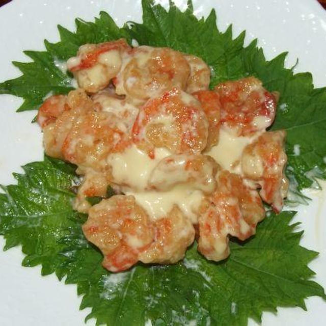 赤魚の煮付け&エビマヨ