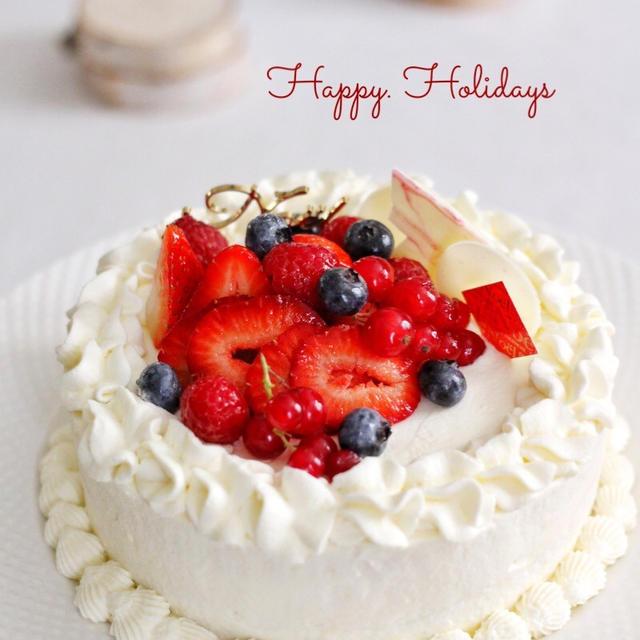お家クリスマスケーキ