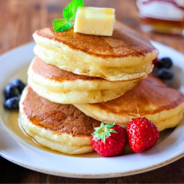 《レシピ動画》♡ホットケーキミックスで♡豆腐パンケーキ♡【#簡単レシピ#ヘルシー#朝食】
