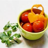 みりんで簡単!にんじんとトマトのグラッセのレシピ