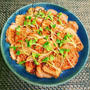 お弁当に◎豆板醤&焼肉のたれでレンチン焼豚Rieちゃんハピバ