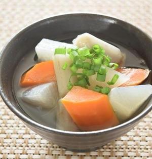 根菜の和風デトックススープ  一番出汁&根菜の香りを楽しむ!
