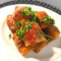 長芋の豚ロール  ウスターソース・スイチリ・鯛醤味!