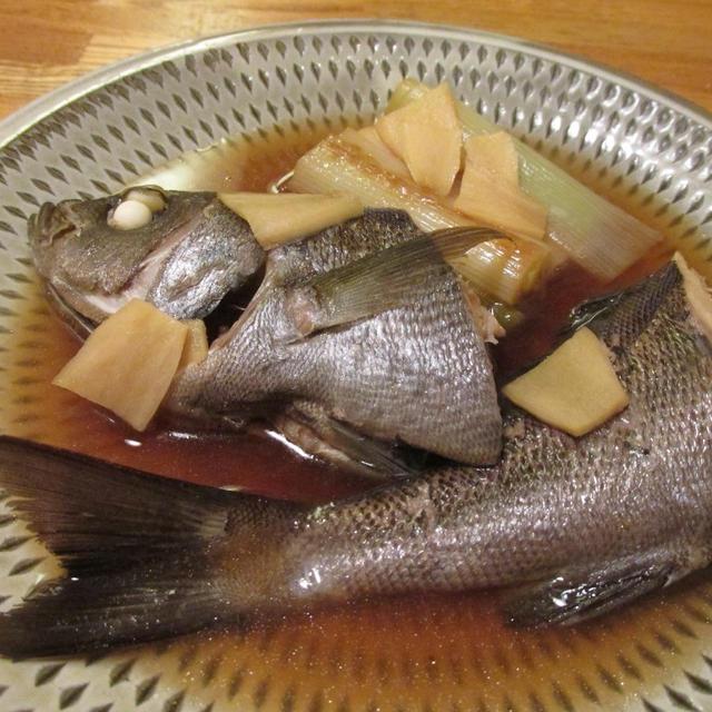 【旨魚料理】イサキのポン酢煮込み