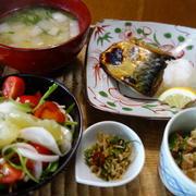 シンプルなのに満足度100%の焼き塩鯖定食