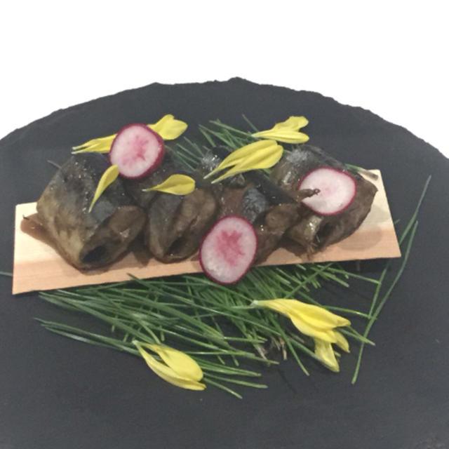 川崎市 北部市仕入れの美味しい『秋刀魚の印籠煮』