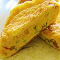 [味付け不要de簡単♪お弁当のおかずやおつまみにも]梅と大葉入り♡油揚げの卵焼き/嬉しいつくレポ♡/ 7/14「今日のイチオシ!ブログ&レシピ」掲載感謝です♡ by satorisuさん